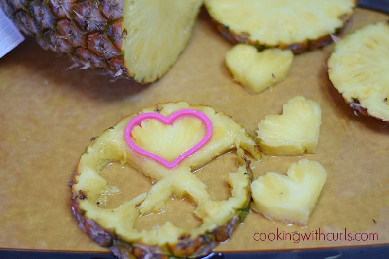Dark Chocolate Cabernet Fondue pineapple cookingwithcurls.com