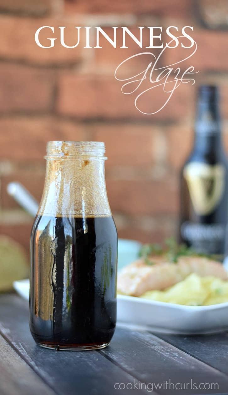 Guinness Glaze | cookingwithcurls.com