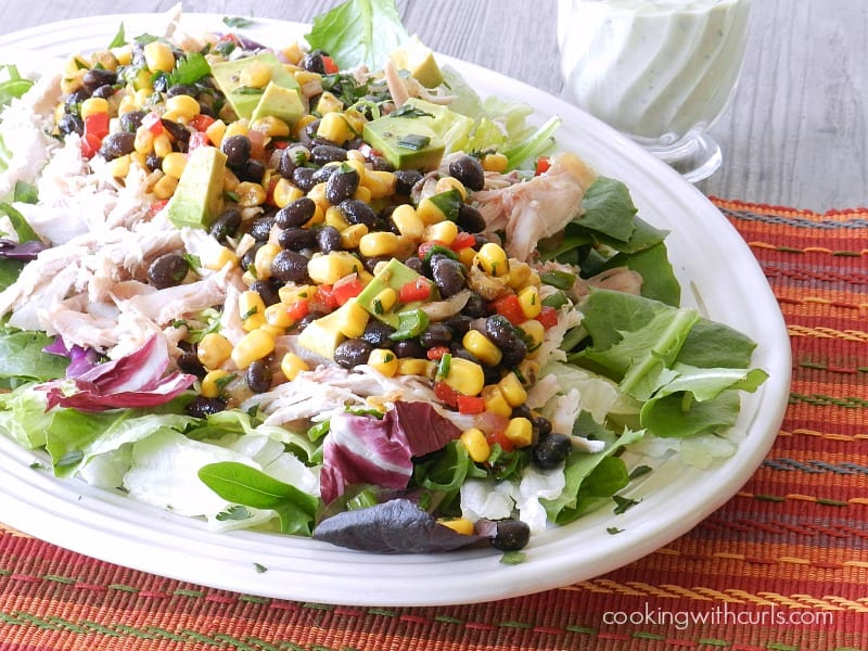 Southwest Chicken Salad Winter & out of seasons - Cooking ...