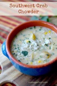 Southwest Crab Chowder