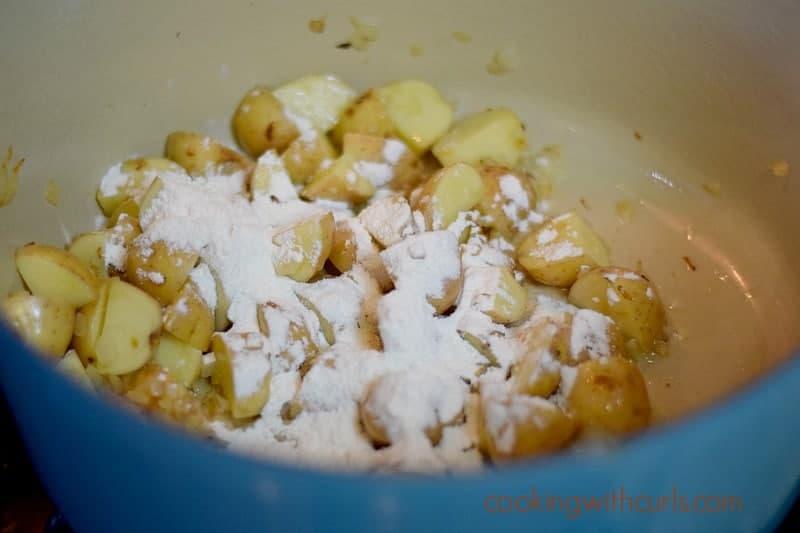 Southwest Crab Chowder flour cookingwithcurls.com
