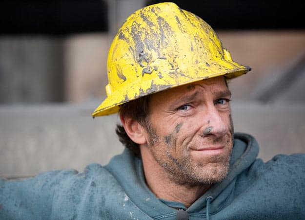 mike rowe hard hat