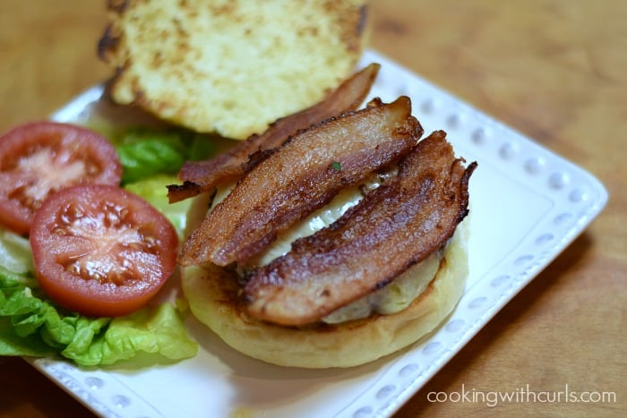 California Burgers bacon cookingwithcurls.com