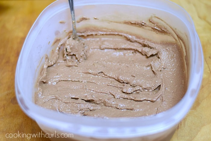 Chocolate Walnut Fudge Ice Cream frozen Cooking with Astrology Aries cookingwithcurls.com