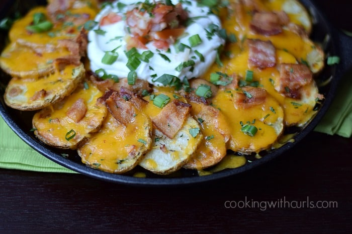 Irish Nachos #stpatricksday #appetizers cookingwithcurls.com