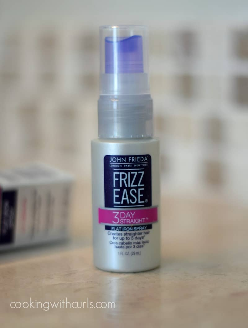 John Frieda Frizz Ease 3 Day Straight cookingwithcurls.com