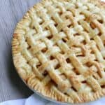 Lattice Top Apple Pie & National Pi Day #piday