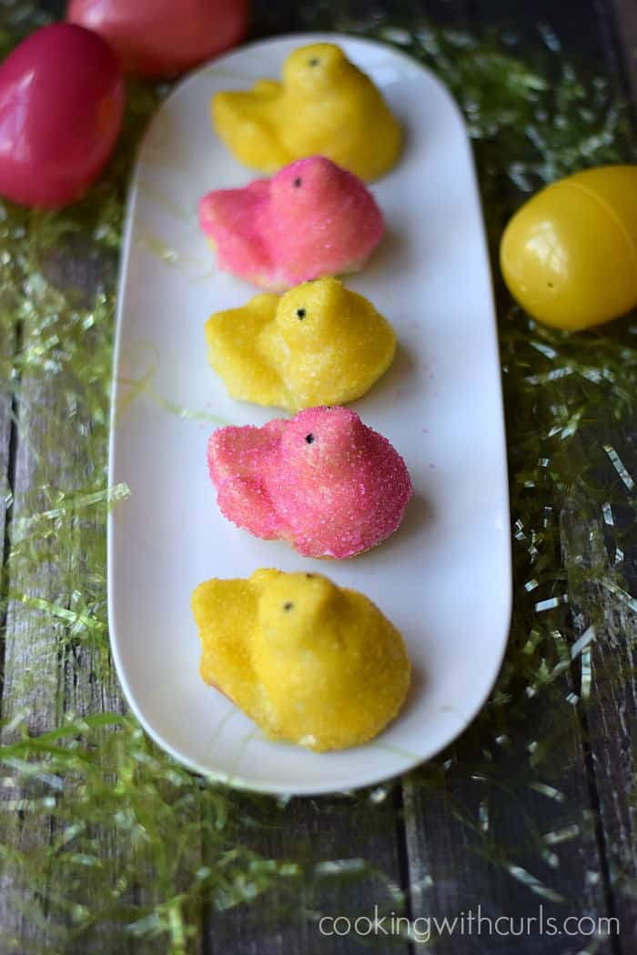 Limoncello Peeps and Cupcakes by cookingwithcurls.com