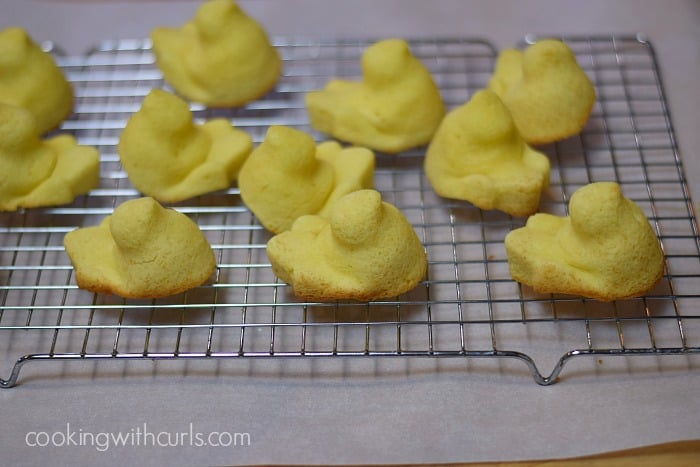 Limoncello Peeps and Cupcakes rack cookingwithcurls.com