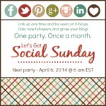 Let's Get Social Sunday March