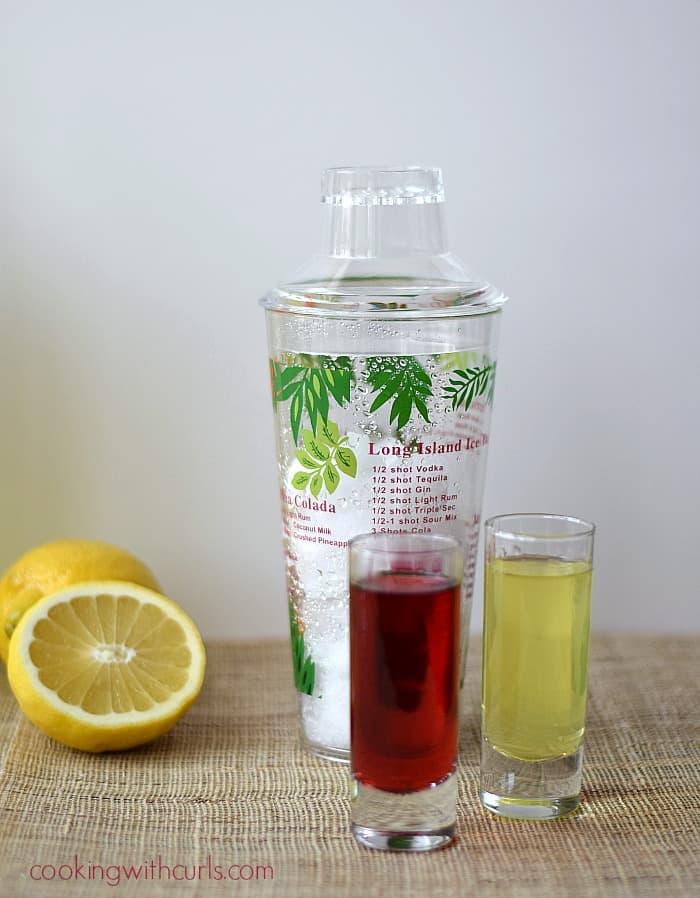 Passion Tea Lemonade shots cookingwithcurls.com