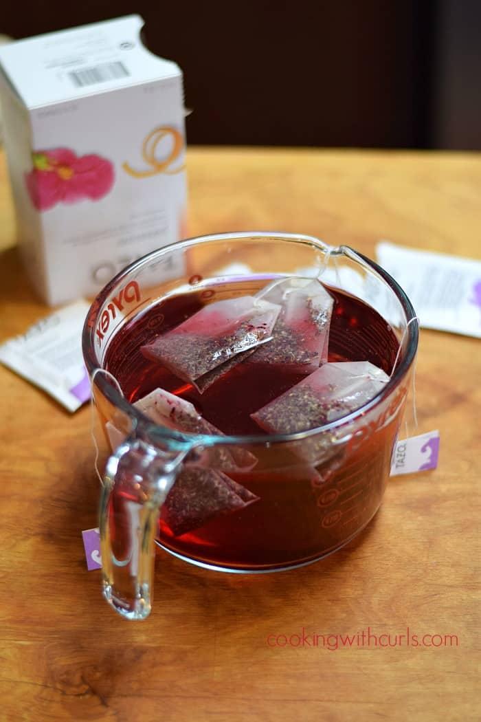Passion Tea Lemonade steep cookingwithcurls.com
