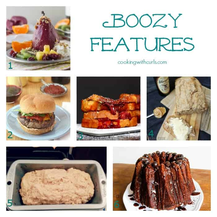 Boozy Features Collage cookingwithcurls.com