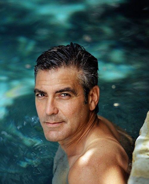 George Clooney pool