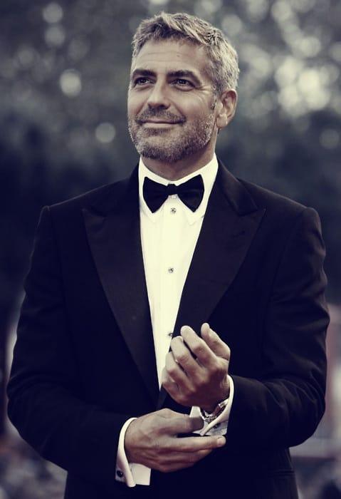 George Clooney suit