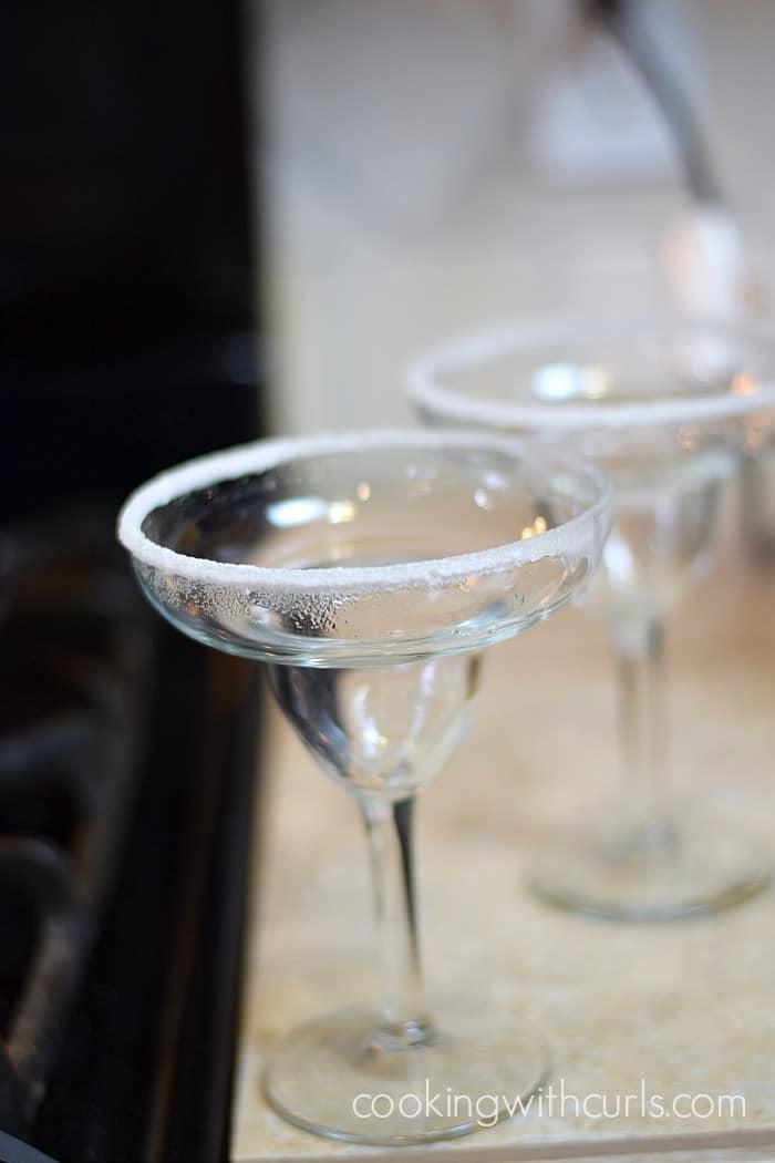 Mango Margarita glasses cookingwithcurls.com