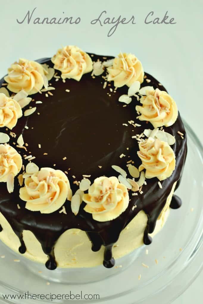 Nanaimo Layer Cake