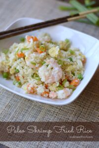 Paleo Shrimp Fried Rice