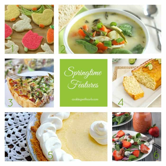 Springtime Features by cookingwithcurls.com