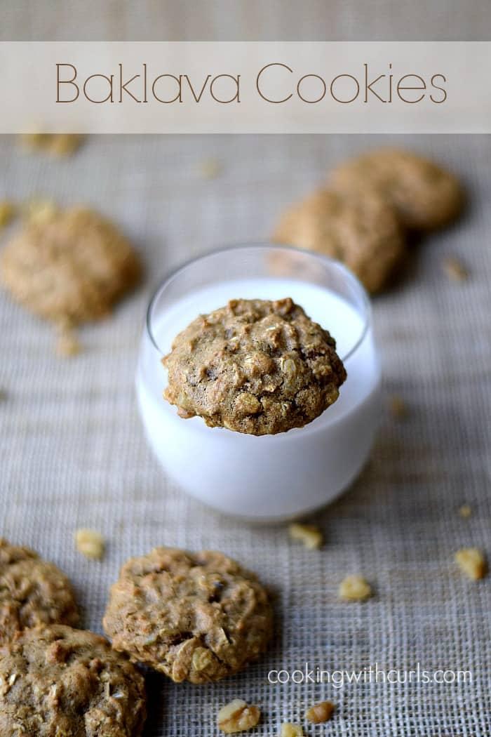 Baklava Cookies|cookingwithcurls.com