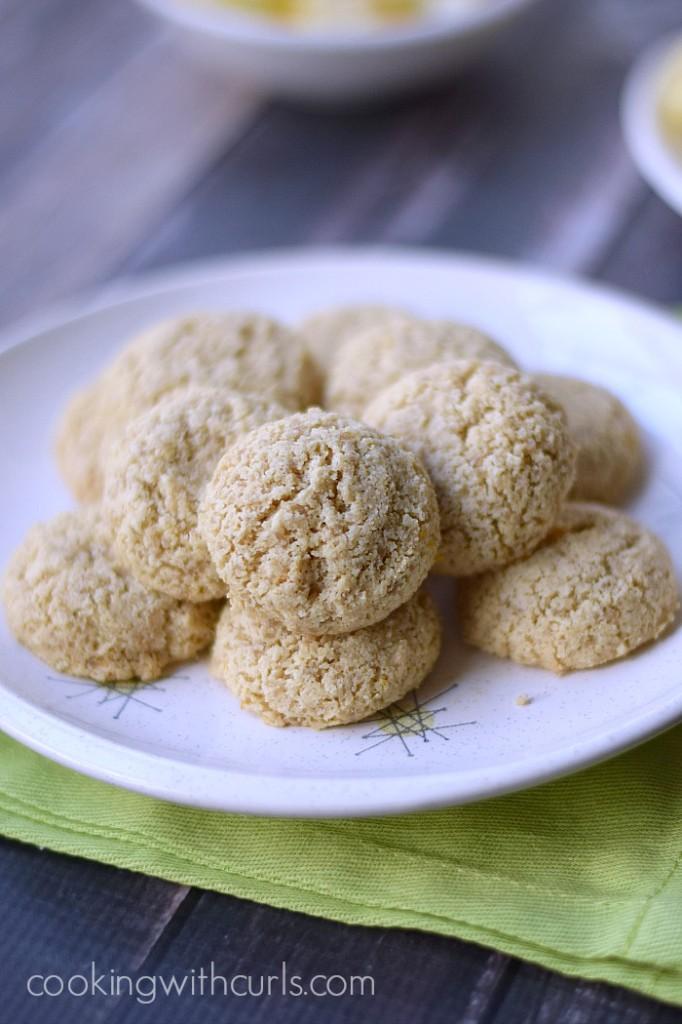 Clean Lemon Cookies   cookingwithcurls.com