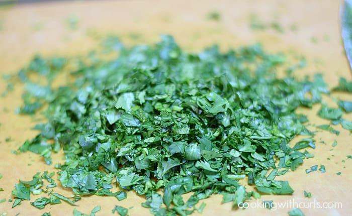 Pico de Gallo cilantro cookingwithcurls.com