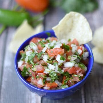 Pico de Gallo | cookingwithcurls.com | #foodoftheworld
