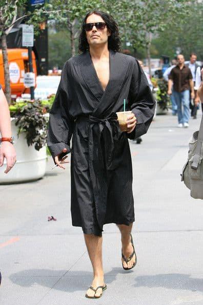 Russel Brand robe