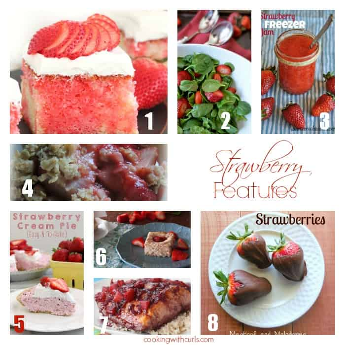 Strawberry Features | cookingwithcurls.com