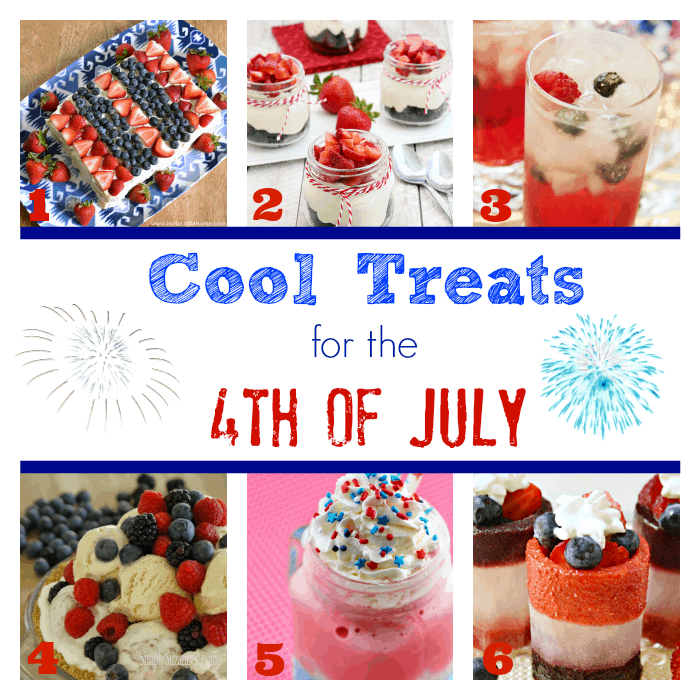 Cool Treats for the 4th of July | cookingwithcurls.com