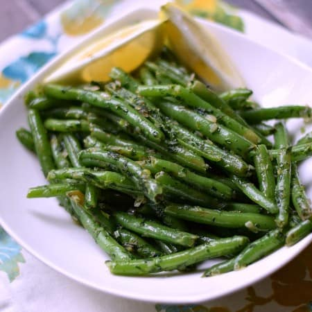 French Green Beans {Haricot Verts}