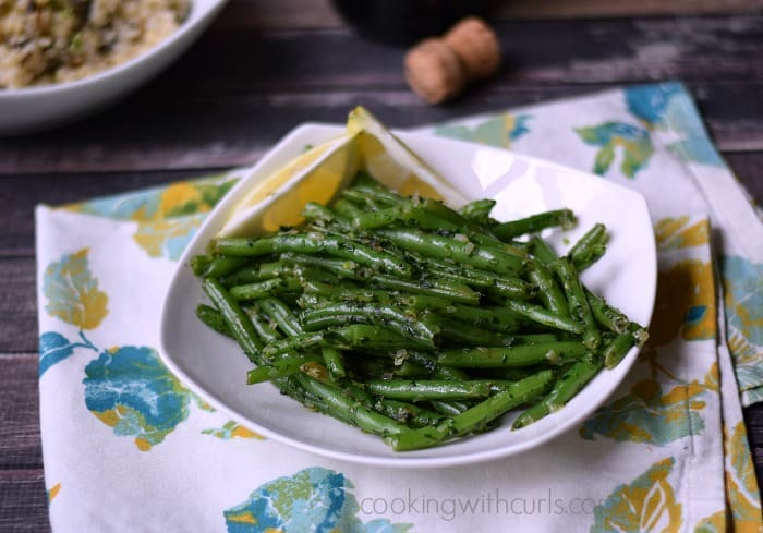 French Green Beans (Haricot Verts) cookingwithcurls.com