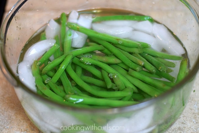 French Green Beans ice cookingwithcurls.com