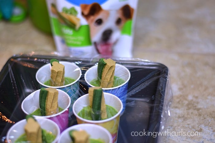 Smoothie Pupsicles freeze cookingwithcurls.com