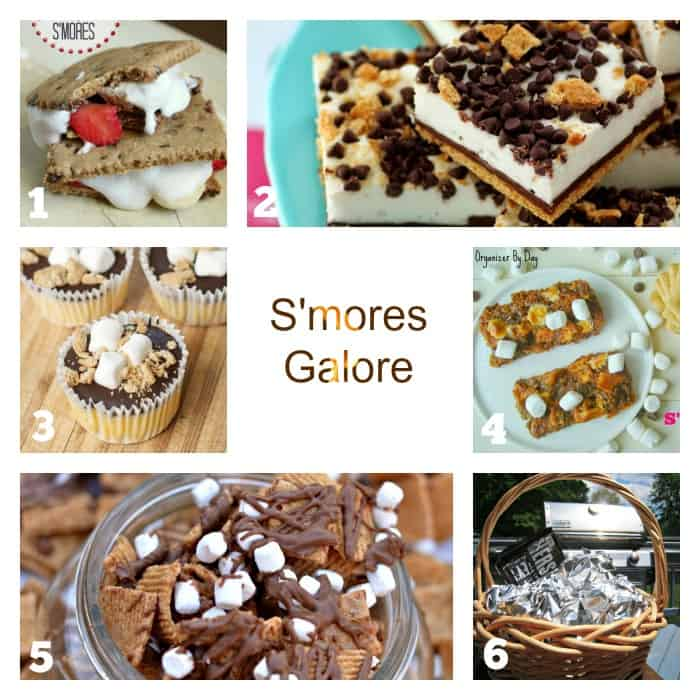 Smores Galore cookingwithcurls.com
