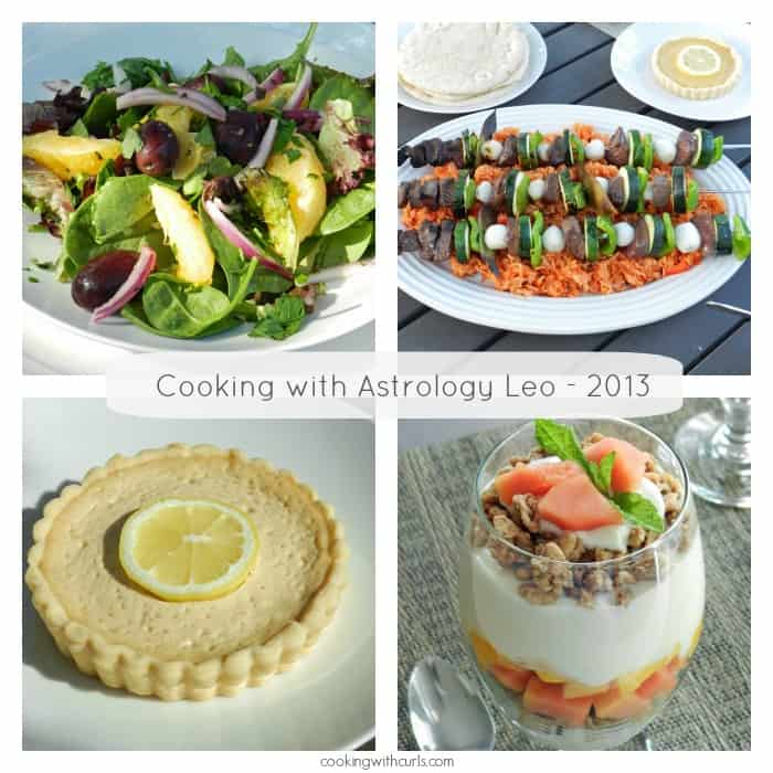 Cooking with Astrology Leo 2013 | cookingwithcurls.com