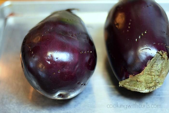 Greek Eggplant Dip cookingwithcurls.com