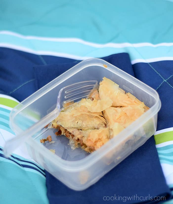 Greek Summery Meat Pie | Cooking with Astrology #Leo | cookingwithcurls.com