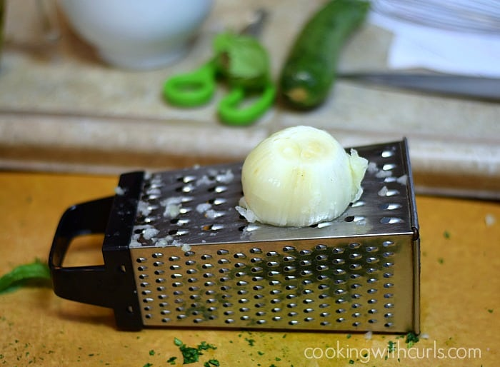 Italian Dressing onion cookingwithcurls.com
