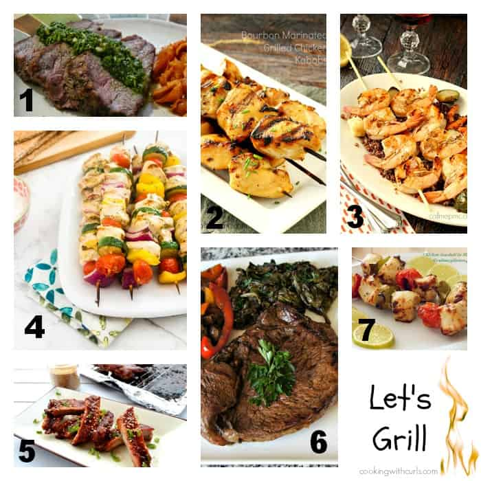 Let's Grill - Best of the Weekend Features | cookingwithcurls.com