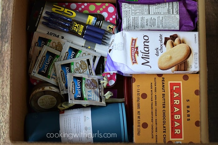 Back to College Care Package | cookingwithcurls.com | #TrendTea #shop