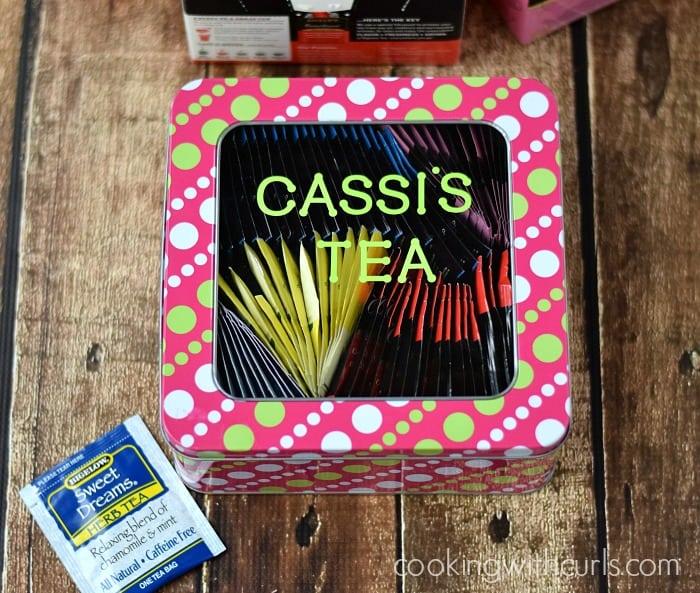 Cassi's Tea | cookingwithcurls.com | #TrendTea #shop