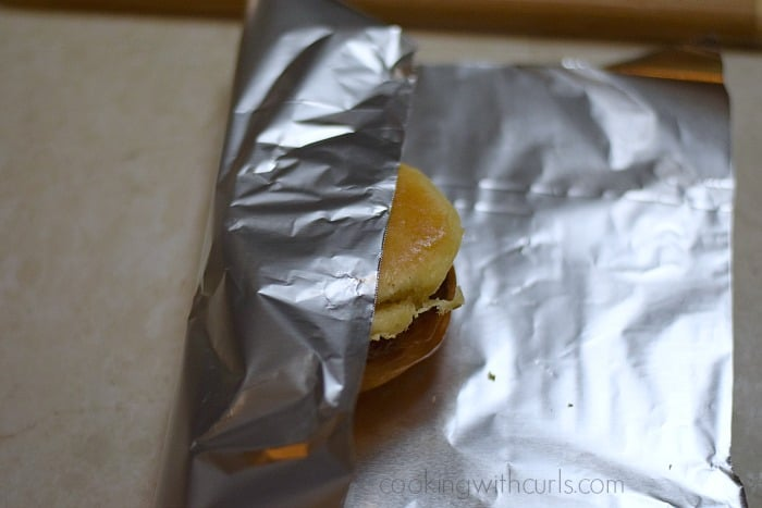 Slow Cooker Barbecue Beef Sandwiches foil cookingwithcurls.com