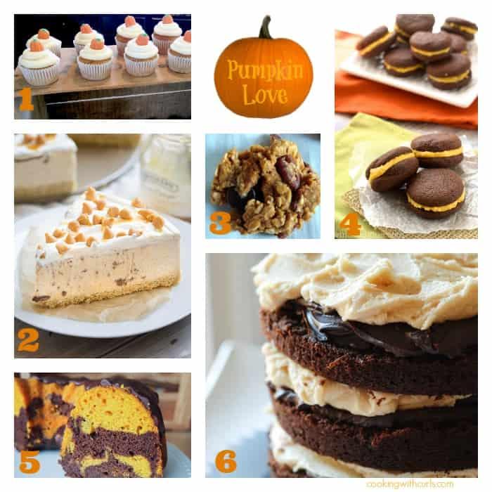 Best of the Weekend: Pumpkin Desserts | cookingwithcurls.com