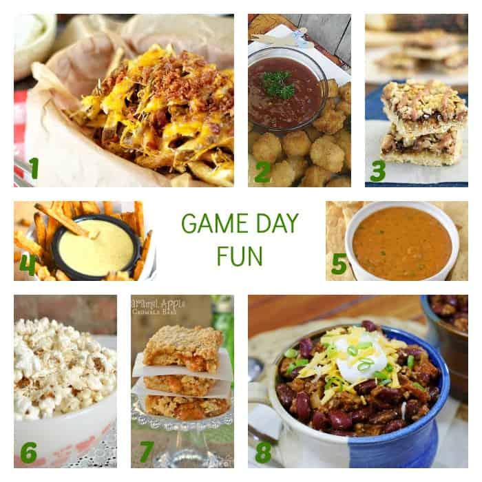 Game Day Fun | cookingwithcurls.com