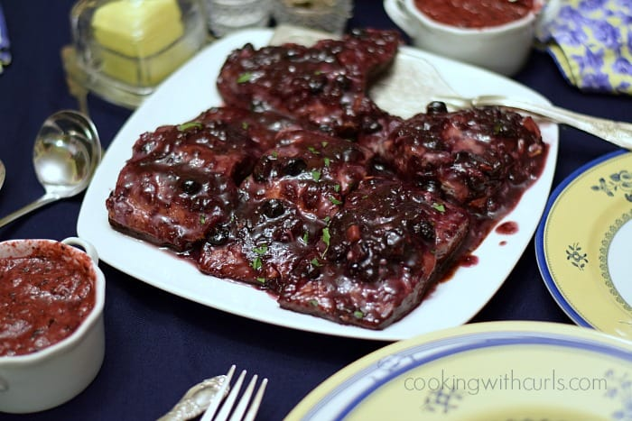 Huckleberry Glazed Salmon in Idaho | cookingwithcurls.com