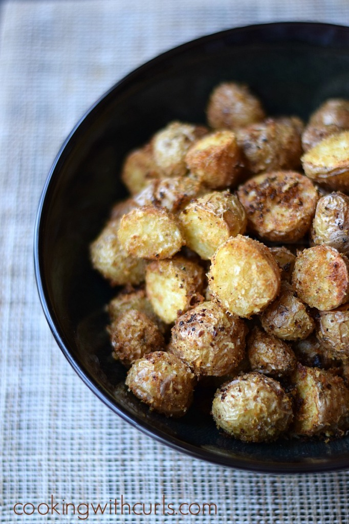 Southwest Roasted Potatoes by cookingwithcurls.com