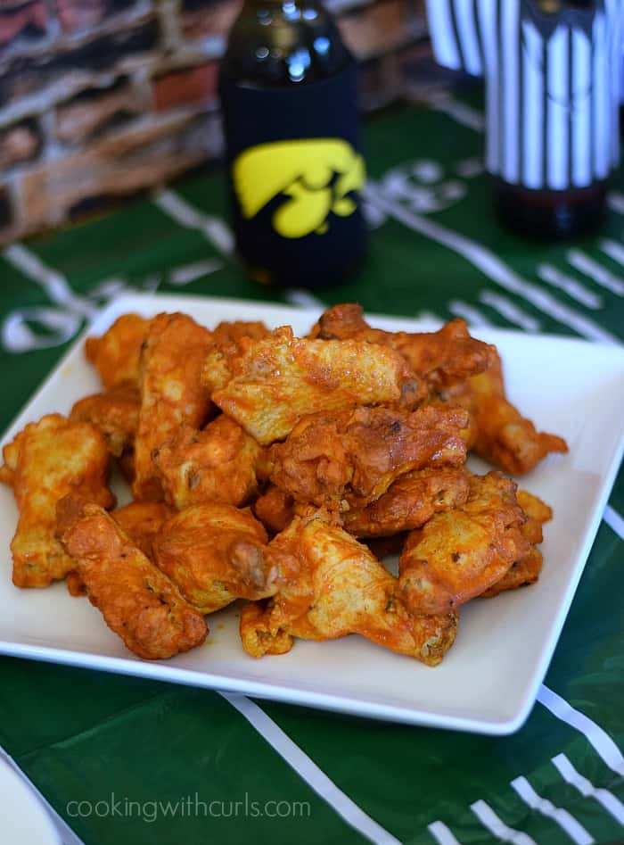Tyson Any'Tizers Hot Wings Buffalo Style   cookingwithcurls.com   #wingsandwipes #pmedia #ad