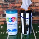 Wet-Nap Hand Wipes Referee   cookingwithcurls.com   #wingsandwipes #pmedia #ad