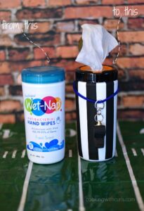 Wet-Nap Hand Wipes Referee | cookingwithcurls.com | #wingsandwipes #pmedia #ad